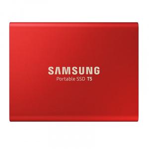 Samsung Portable T5 Red 1TB (MU-PA1T0R/EU)