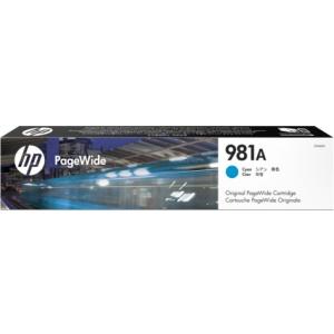 HP 981A PageWide Cyan (J3M68A)