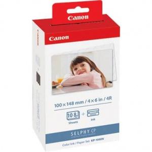 Canon Ink+Paper Set KP-108IN (AJ3115B001AA)