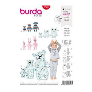 Burda Style Tipar Burda jucarii plus 6303