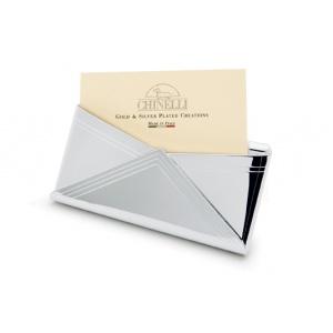 Chinelli Suport argint pentru carti de vizita
