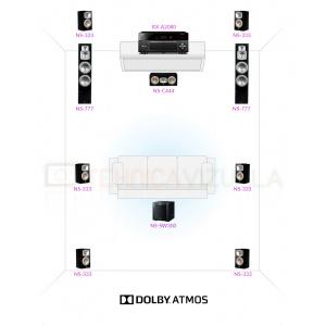 Yamaha Dolby Atmos 7.1.2 ATM1