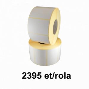 ZINTA Role etichete semilucioase 60x60mm, 2395 et./rola - 60X60X2395-SGP