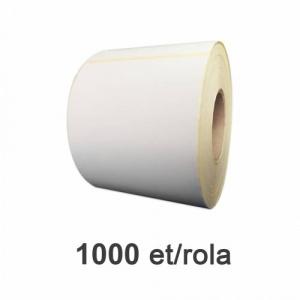 ZINTA Role etichete semilucioase 100x150mm, perfor, 1000 et./rola - 100X150X1000-SGP-PRF