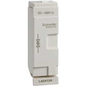 Schneider Electric Tesys d - suppressor module  - bidirectional peak limiting diode - 126 - Contactoare - LAD4T3U -
