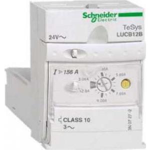 Schneider Electric Unitate de comandă av. lucb - clasă 10 - 3...12 a - 24 v c.c. - Motor startere - Tesys u - LUCB12BL -