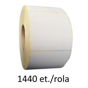 ZINTA Role etichete semilucioase 100x100 mm, 1440 et./rola - 100X100X1440-SGP