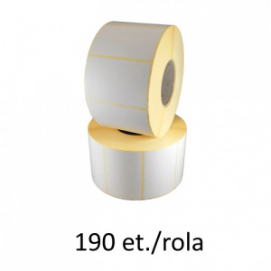 ZINTA Role etichete termice 55x65mm, 190 et./rola - 55X65X190-TH