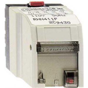 Schneider Electric Plug-in relay - zelio rhn - instantaneous - 4 c/o - 24 v ac 50 hz - 5 a - Relee de interfata - Zelio relaz - RHN411B -