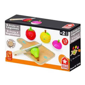 House of Toys Jucarie cu fructe si legume de taiat