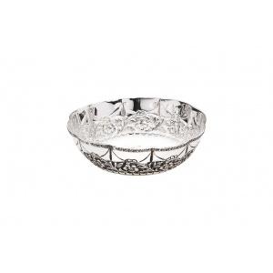 Chinelli Bol mediu argintat Sheffield 22 cm