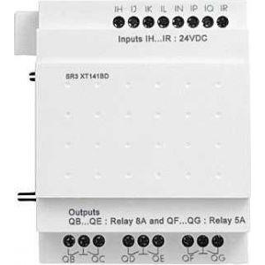 Schneider Electric Modul de extensie i/o discret - 14 i/o - 24 v c.a. - pt. zelio logic - Relee inteligente programabile - zelio logic - Zelio logic - SR3XT141B -