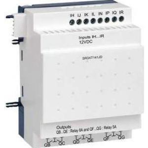 Schneider Electric Modul extensie i/o discrete - 14 i o - 12 v c.c. - pentru zelio logic - Relee inteligente programabile - Zelio logic - SR3XT141JD -