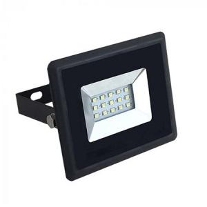 V-TAC 10W LED Floodlight SMD E-Series Black Body White