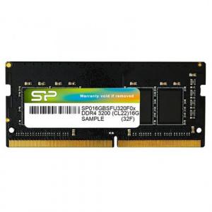 Silicon Power 8GB,   SO-DIMM DDR4-3200MHz, CL22 SP008GBSFU320B02