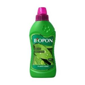 Biopon Ingrasamant plante verzi 0,5 l