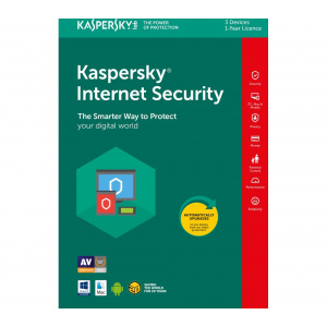 Kaspersky Kaspersky Internet Security, Licenta Electronica, 2 ani, 5 echipamente, New