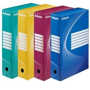 Esselte Cutii arhivare albe Boxy 15cm E128602