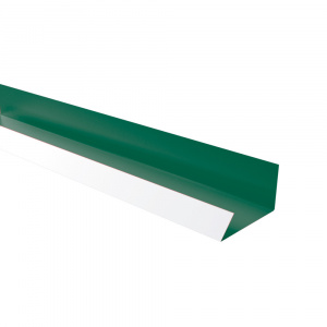 Rufster Jgheab ascuns Eco 0,45 mm  6020 MS verde-crom mat structurat