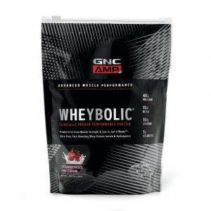 GNC Supliment Alimentar AMP Wheybolic™  Capsuni, 615 g