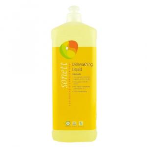Sonett Detergent lichid pentru spalat vase, cu galbenele, 1 l, bio