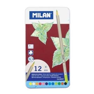 Milan Set 12 creioane colorate