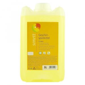Sonett Detergent lichid pentru spalat vase, cu galbenele, 5 l, bio