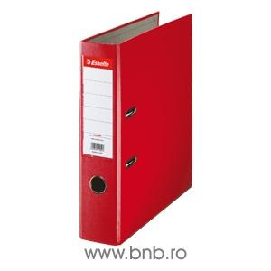 Esselte Biblioraft 75 mm Economy rosu E11253