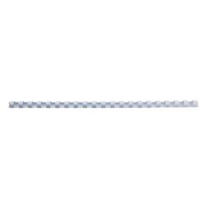 GBC Spira plastic 21 inele 10 mm A4 alb 65 coli 100 buc/set E4028195