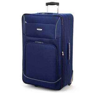 Troler Horizon 75 cm, albastru cu gri A12255