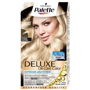 Delux Vopsea De Par Palette Lx9 Blond Platinat Anti Ingalbenire