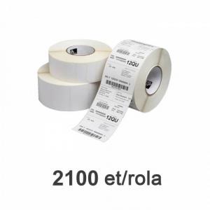 Zebra Role etichete Z-Select 2000D 57x32mm  2100 et./rola - 800262-125