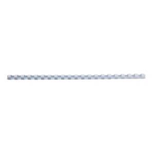 GBC Spira plastic 21 inele 14 mm A4 alb 125 coli 100 buc/set E4028198