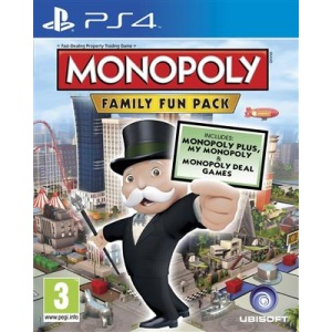 Ubisoft Monopoly Family Fun Pack Ps4