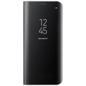 Samsung Clear View Standing Cover pentru Galaxy S8, Black