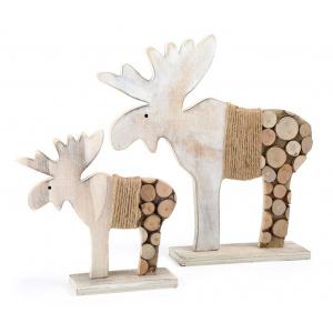 Small Foot Set 2 decoratiuni Elk Tree