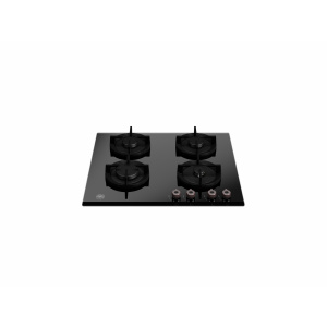 Bertazzoni Plita gaz 60 cm Sticla neagra design Professional P604PROGNE