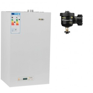 Motan Kplus C22 SPV 23 MEF 23 kW + Filtru anti-magnetita Fernox TF1