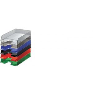 Esselte Tavita pentru documente Europost supozabila, 255 x 65 x 350 mm, fumuriu SL081021