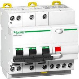 Schneider Electric Siguranta automata cu protectie diferentiala 3P+N 16A 6 kA B A9D56716