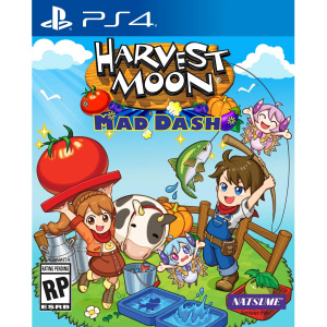 Natsume Harvest Moon Mad Dash PS 4
