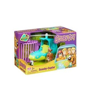 Scooby Doo Elicopter & Figurina Scooby