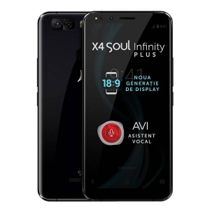 Allview X4 Soul Infinity Plus 64GB Dual Sim 4G Black