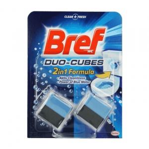 Bref Pastile rezervor WC Aktiv Cleaning Duo-cubes 2x50 g