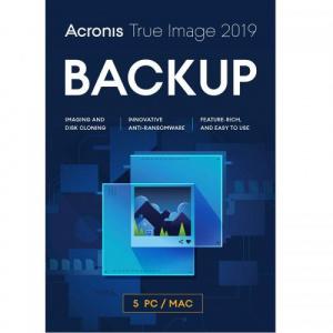 Acronis True Image 2019, 5 PC TI52L1LOS