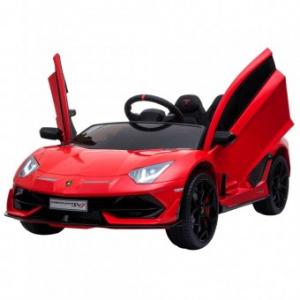 Chipolino Lamborghini Aventador SVJ red