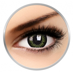 ColourVUE Big eyes Party Green 90 purtari (2 lentile/cutie)