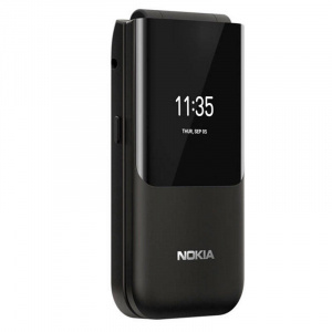Nokia 2720 Flip Dual Sim 4G Black