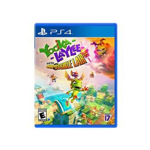 PlayStation Yooka Laylee The Impossible Lair Ps4
