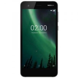 2, Dual SIM, 8GB, 4G, black